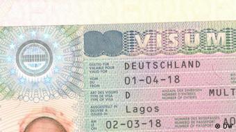 выданная национальная виза Германии