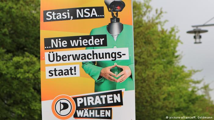 Piraten Partei Wahlplakate