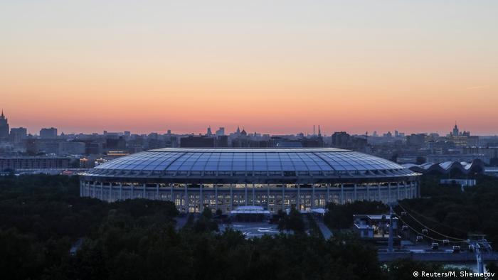 Russland Moskau - WM 2018