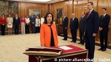 Spanien Ministerinnen im neuen Kabinett Margarita Robles