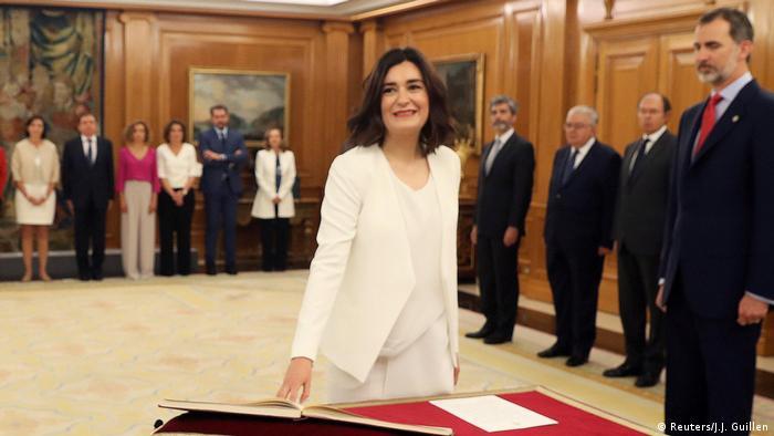 Carmen Montón (Reuters/J.J. Guillen)