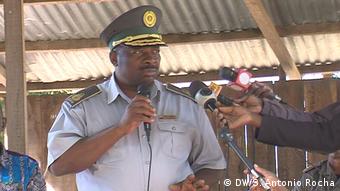 Mosambik - Manuel Zandamela Polizeikommandant von Nampula