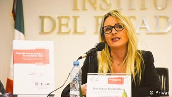 Politikwissenschaftslerin Flavia Freidenberg (Privat)
