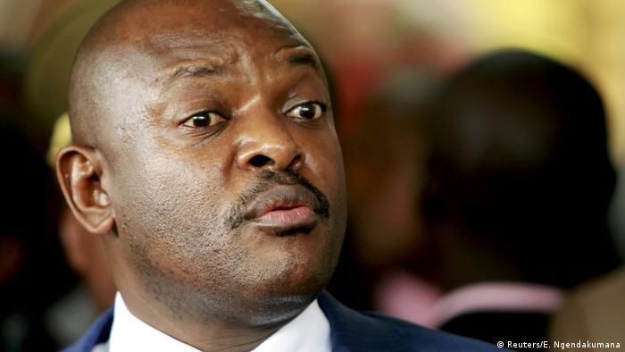 Archivbild - Burundi's President Pierre Nkurunziza