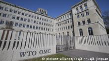 Schweiz   Hauptgebäude der WTO in Genf