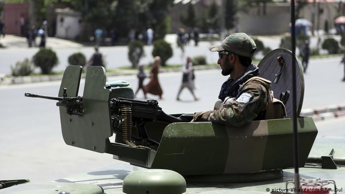 Afghanistan | Anschlag auf Kleriker in Kabul (picture-alliance/dpa/AP/R. Gul)