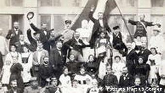 Feier des 100. Geburtstags von Kaiser Wilhelm I.