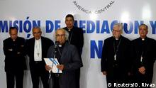Nicaragua Kardinal Brenes nach Treffen mit Präsident Ortega in Managua