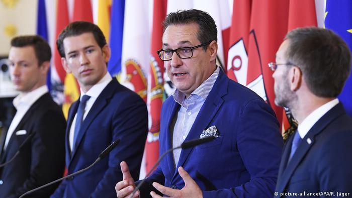Österreich PK zum Thema Entscheidungen im Kampf gegen politischen Islam
