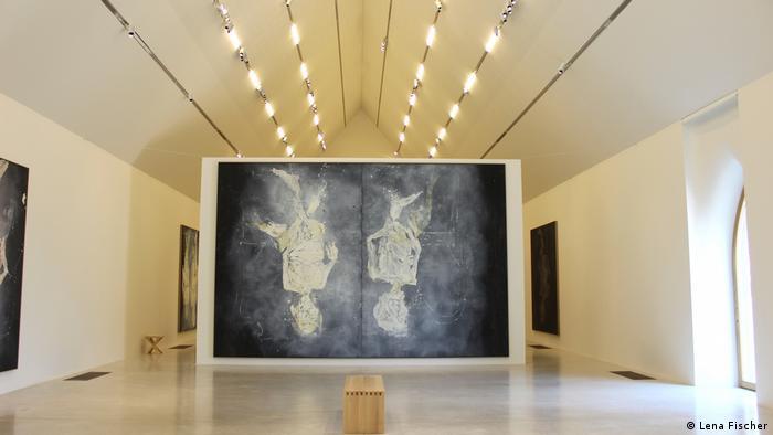 Blick in die Ausstellung Corpus Baselitz im Museé Unterlinden Colmar (Lena Fischer)