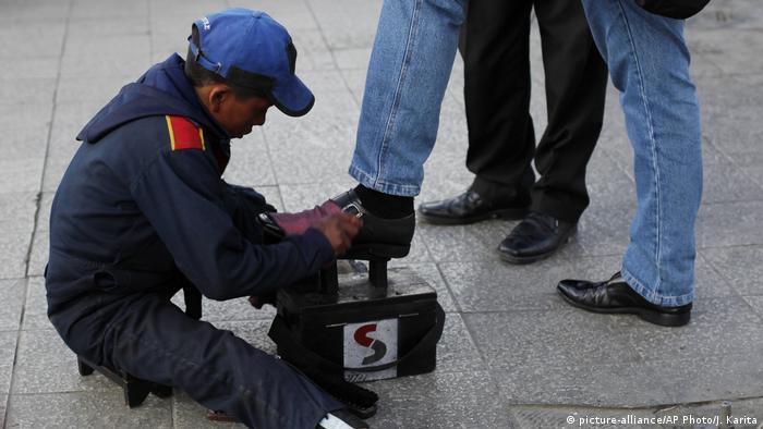 Kinderarbeit in Bolivien (picture-alliance/AP Photo/J. Karita)