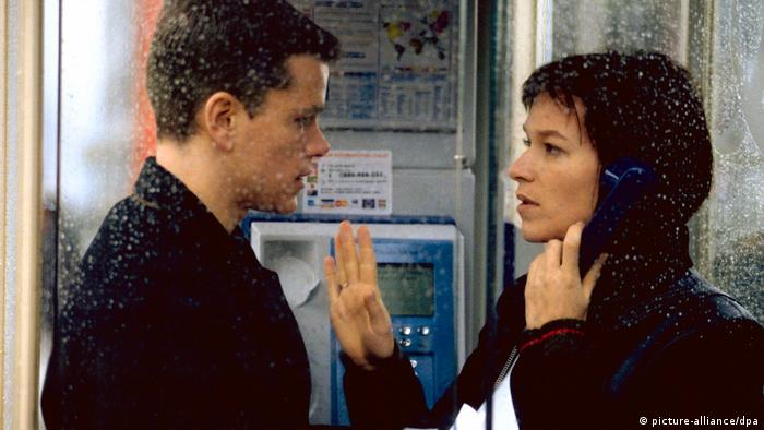 Franka Potente and Matt Damon in The Bourne Identity (picture-alliance/dpa)