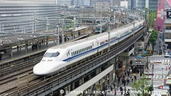 DW eco@africa - Japan Bullet Train (picture-alliance/Construction/I. Masterton)
