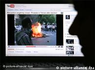 Cijeli svijet je preko internet-portala mogao vidjeti amaterski video o demonstracijama u Iranu