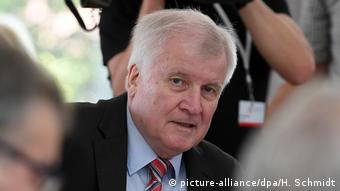 Interior Minister Horst Seehofer (picture-alliance/dpa/H. Schmidt)