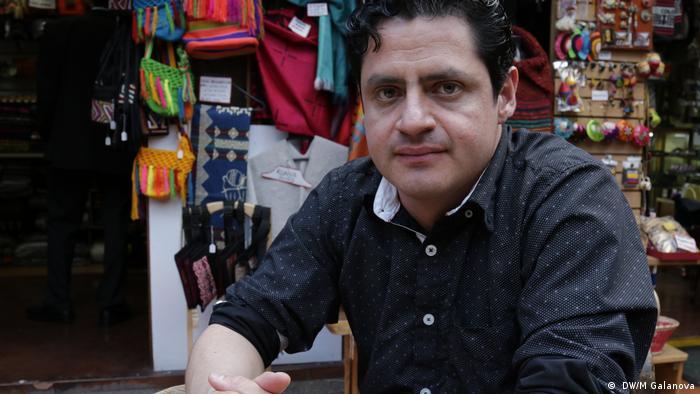 Pavel Santodomingo of the Patriotic Union (UP), Bogota