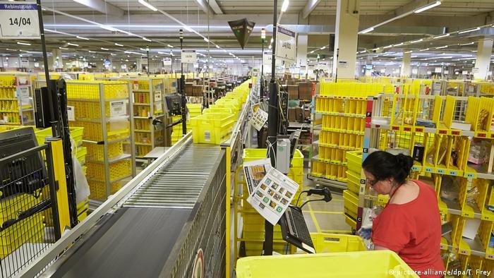 Centro logístico de Amazon en Coblenza