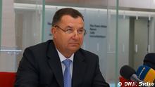 Belgien, Brüssel: Stepan Poltorak, Verteidigungsminister der Ukraine beim Treffen der NATO-Verteidigungsminister