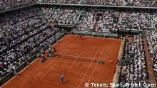 Tennis French Open 2018 Juan Martin Del Potro - Rafael Nadal