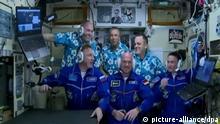 DLR - Astronaut Gerst erreicht Raumstation ISS