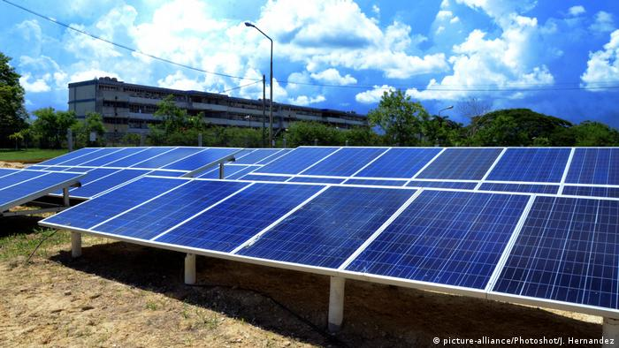 Kubanisch-chinesische Beziehungen Photovoltaik