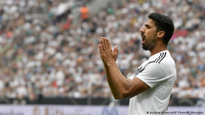 Fußball Länderspiel Deutschland - Saudi-Arabien Samy Khedira