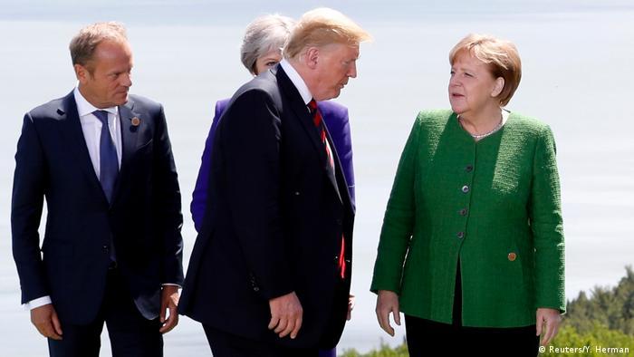 G7 Gipfel in Kanada (Reuters/Y. Herman)