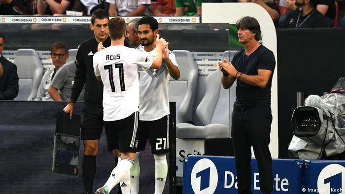 Fussball Herren Saison 2017 18 Länderspiel in Leverkusen Deutschland Saudi Arabien Marco Reus (Imago/M. Koch)