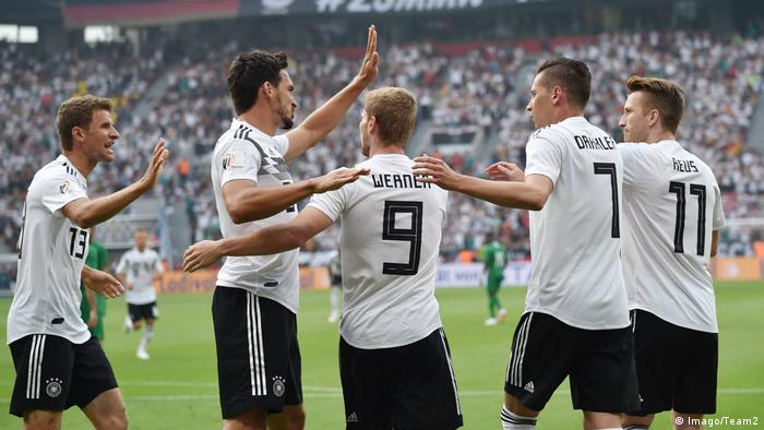 Fussball/ Laenderspiel: Deutschland - Saudi Arabien (Imago/Team2)