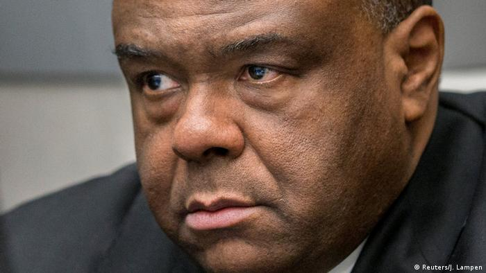 Former vice president Jean-Pierre Bemba at the ICC (Reuters/J. Lampen)