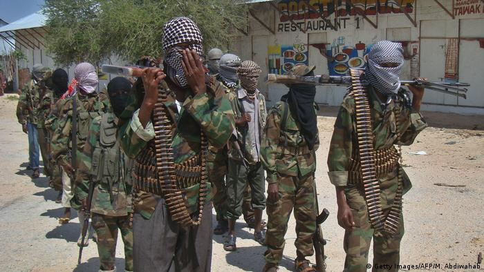 Al-Shabab fighters in Somalia (Getty Images/AFP/M. Abdiwahab)