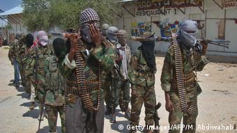 Somalien Al-Shabab-Kämpfer