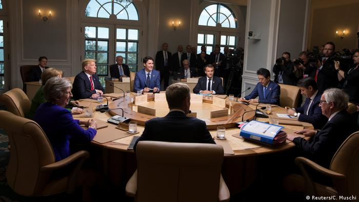 G7 leaders holding talks in Quebec