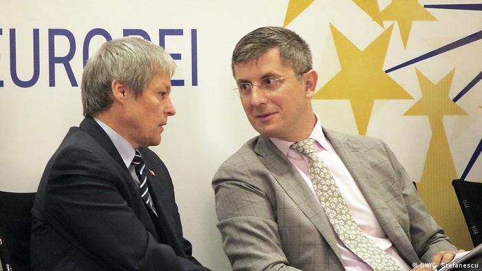 Liderii Alianţei 2020 USR-PLUS, Dacian Cioloş şi Dan Barna