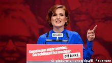 Parteitag Die Linke Katja Kipping (picture-alliance/dpa/B. Pedersen)