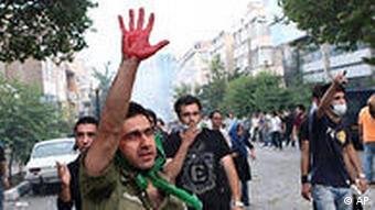 Iran Wahlen Samstag Demonstration Unruhen in Teheran