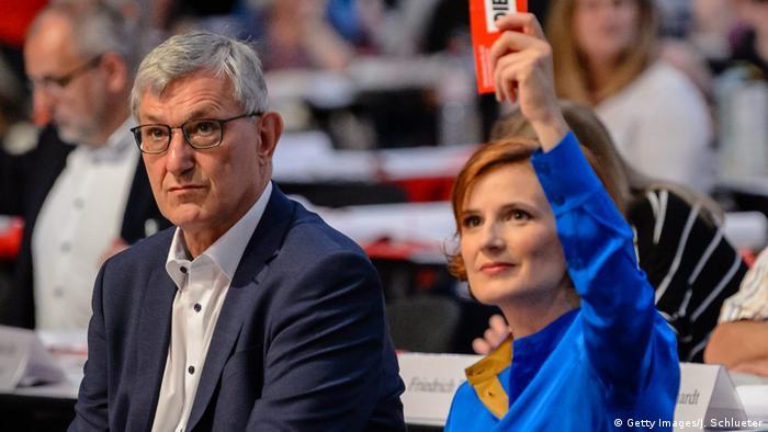 Katja Kipping und Bernd Riexinger (09.06.2018) (Getty Images/J. Schlueter)