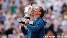 Tennis French Open 2018 Sieg Simnoa Halep