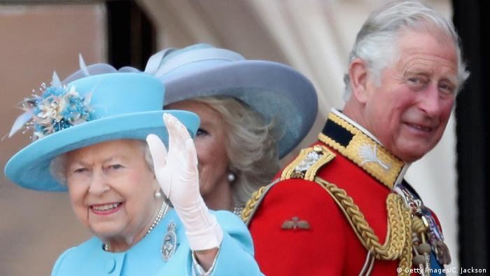 London Geburtstag der Queen Trooping the Colour (Getty Images/C. Jackson)