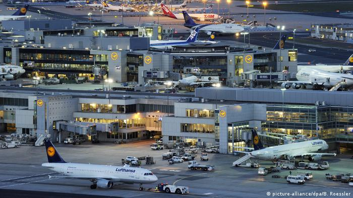 Deutschland Flughafen Frankfurt am Main