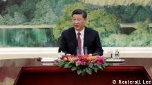China SCO-Gipfel in Qingdao Präsident Xi Jinping