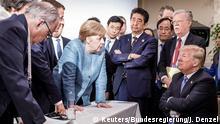 Фото з перемовин G7 у Канаді