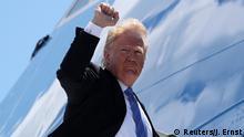 Kanada G7 Gipfel Abreise Donald Trump