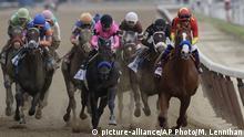 Belmont Park Pferderennen Justify