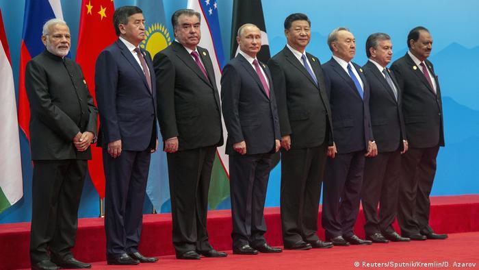 China Gipfel Shanghaier Organisation für Zusammenarbeit in Qingdao