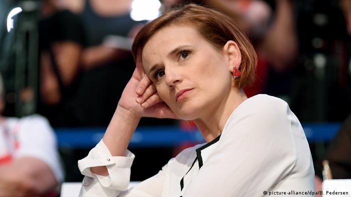 Die Linken-Chefin Katja Kipping