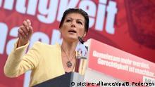 Deutschland, Leipzig: Sahra Wagenknecht beim Bundesparteitag der Partei Die Linke