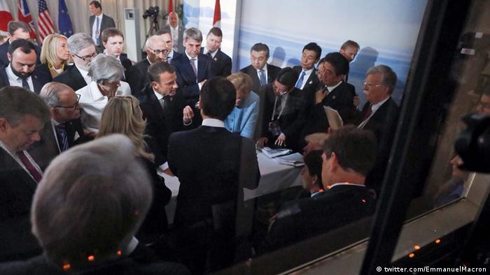 переговоры лидеров стран G7