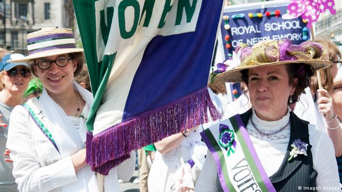 London march celebrating 100 years of women's suffrage (Imago/i Images)