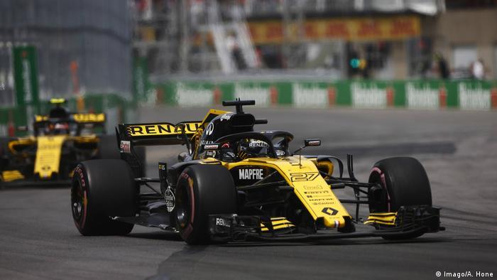 Formel Eins, Kanada 2018: Nico Hulkenberg vor Carlos Sainz Jr.